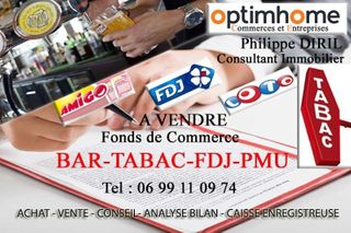 Bar - Tabac - Loto - Presse CLERMONT  (60600)