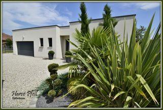 Maison contemporaine SAINT ETIENNE DE SAINT GEOIRS 157 (38590)