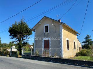 Maison de ville DUN LE PALESTEL 86 (23800)