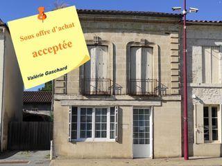 Maison de village SAINT ANTOINE DE BREUILH 100 (33220)