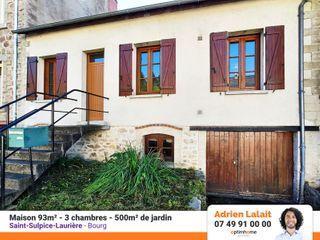 Maison SAINT SULPICE LAURIERE 93 (87370)