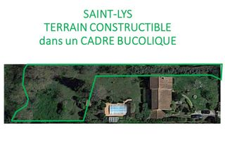 Terrain SAINT LYS  (31470)