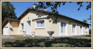 Maison plain-pied CHALAIS 150 (16210)