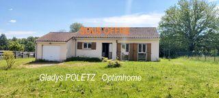 Maison plain-pied SAINT LAURENT SUR GORRE 89 (87310)