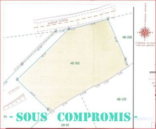 Terrain constructible VILLESPASSANS  (34360)