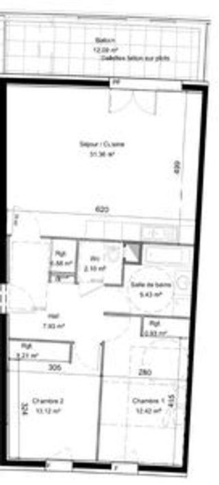 Appartement en frais réduits LYON 9EME arr  (69009)