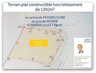 Terrain constructible CARBONNE  (31390)