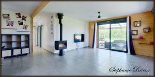 Maison à ossature bois ARESSY 91 (64320)
