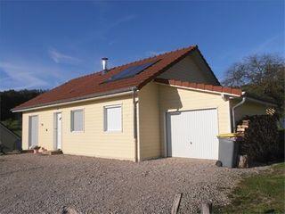 Maison à ossature bois CUBRIAL  (25680)