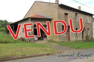 Maison à rénover FRESNES EN SAULNOIS 187 (57170)