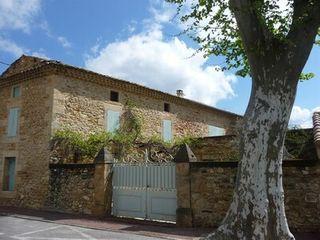Maison en pierre CONNAUX  (30330)