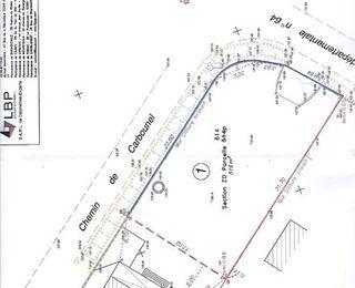 Terrain constructible AUSSONNE  (31840)