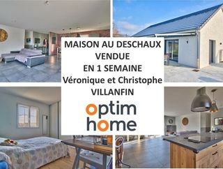 Maison plain-pied LE DESCHAUX 100 (39120)