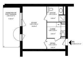 Appartement en frais réduits MIRIBEL  (01700)