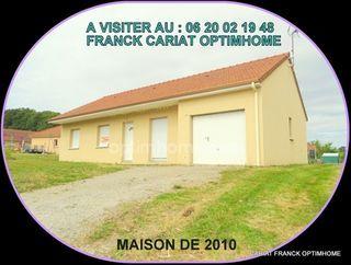 Maison plain-pied SAINT PIERRE DE FURSAC 80 (23290)