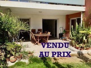Appartement en rez-de-jardin MARSEILLE 9EME arr 108 (13009)