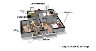 Appartement à rénover VICHY  (03200)
