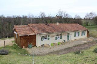 Maison à ossature bois CHERVEIX CUBAS 136 (24390)