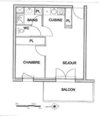 Appartement BORDEAUX 33 (33000)