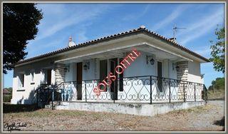 Maison plain-pied MONTMOREAU SAINT CYBARD 95 (16190)