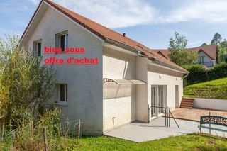 Maison contemporaine CHATILLON LE DUC 169 (25870)