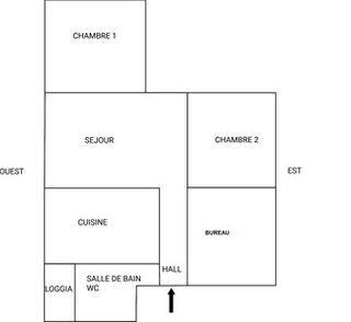 Appartement à rénover MONTELIMAR 66 (26200)