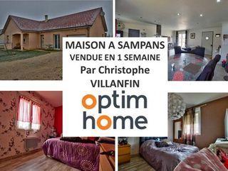 Maison plain-pied SAMPANS  (39100)