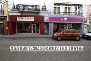 Local commercial LA COTE SAINT ANDRE  (38260)