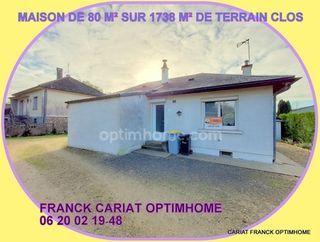Maison plain-pied LE DOGNON 80 (23300)