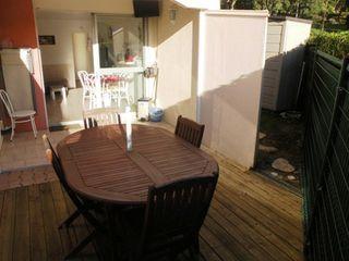 Appartement en rez-de-jardin LE CAP D'AGDE 32 (34300)