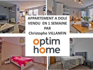 Appartement en résidence DOLE 63 (39100)