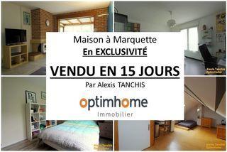 Maison MARQUETTE LEZ LILLE 116 m² ()