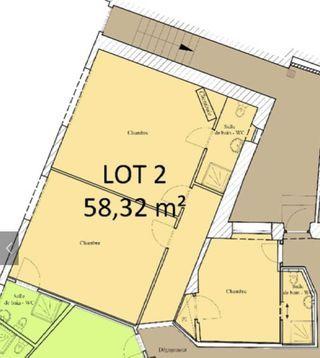 Appartement à rénover LIMOGES 58 m² ()