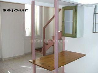 Appartement ancien MARSEILLE 1ER arr 25 m² ()