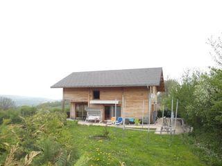 Maison à ossature bois CORMARANCHE EN BUGEY 180 m² ()