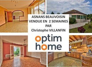 Maison ASNANS BEAUVOISIN 130 m² ()