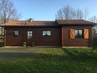 Maison à ossature bois SAINT YRIEIX LA PERCHE 100 m² ()