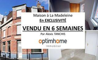Maison mitoyenne LA MADELEINE 98 m² ()