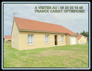 Maison plain-pied SAINT PIERRE DE FURSAC 84 m² ()