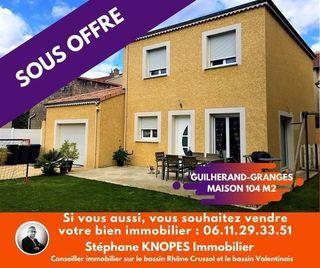Maison individuelle GUILHERAND GRANGES 104 m² ()