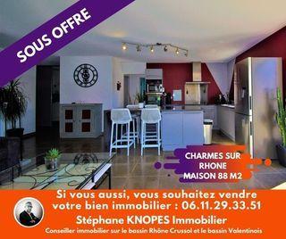 Maison CHARMES SUR RHONE 88 m² ()
