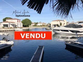 Maison en marina AIGUES MORTES 66 m² ()