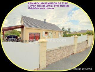Maison plain-pied SAINT PRIEST LA FEUILLE 87 m² ()