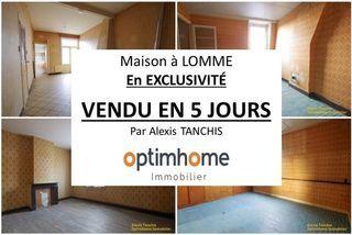 Maison à rénover LOMME 96 m² ()