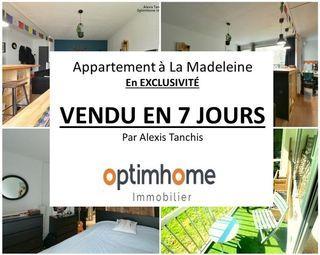 Appartement LA MADELEINE 54 m² ()