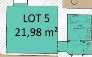 Appartement à rénover LIMOGES 21 m² ()