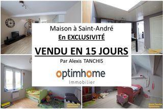 Maison SAINT ANDRE 110 m² ()