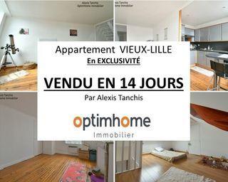 Appartement ancien LILLE 57 m² ()