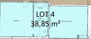 Appartement à rénover LIMOGES 38 m² ()
