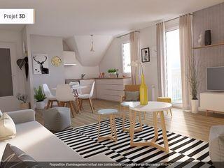 Appartement GUICHEN 54 m² ()
